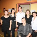 GALA de Bourgneuf ( Valérie, Stéphanie Rodriguez, Christelle & Cyril Renaut, Lionel Belluard, Arlette )