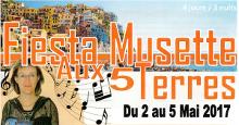 Fiesta Musette aux 5 Terres du 2 au 5 mai 2017 avec Danse Musette Passion